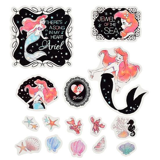 Decoration Sticker Collection - Sticker bath for Ariel & Sebastian