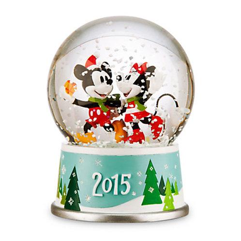 Christmas Special : Mickey &Minnie 2015  SnowGlobe