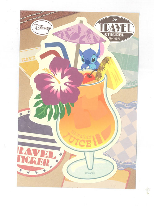 Decoration Sticker Collection - Stitch Drink Travel Disney Decoration Sticker