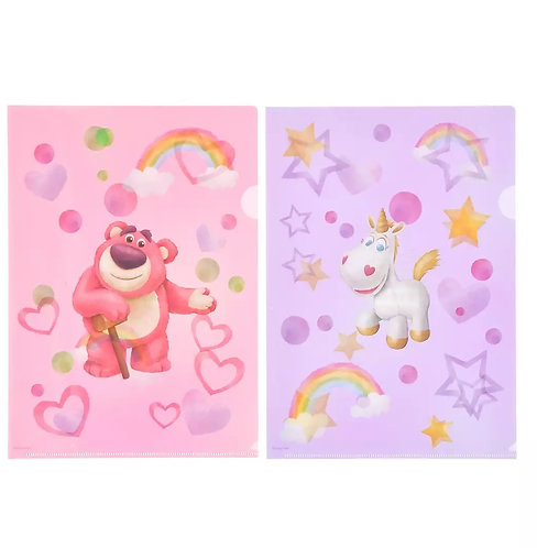File Collection -Lozzo & Buttercup Rainbow Fantasy Toy Story Clear File