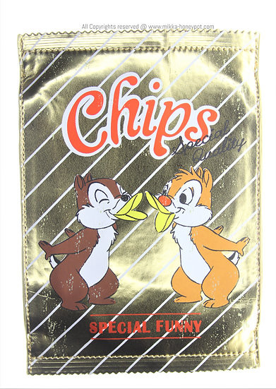 Make-up Pouch Collection : Chip & Dale Chips Package Pouch