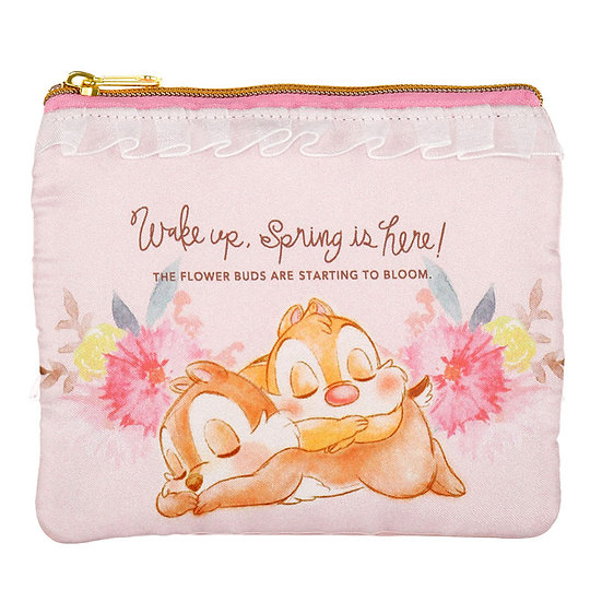 Coin & Card Pouch Collection : SPRING FOREST Chip & Dale purse