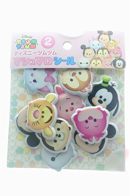 Sticker Pack Collection - Tsum Tsum Pop Out Sticker Pack 2
