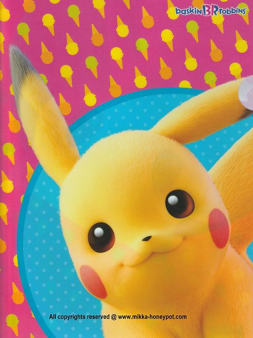 File Collection Baskin Robbins Special Event Pokémon  File ( 1 pc set )