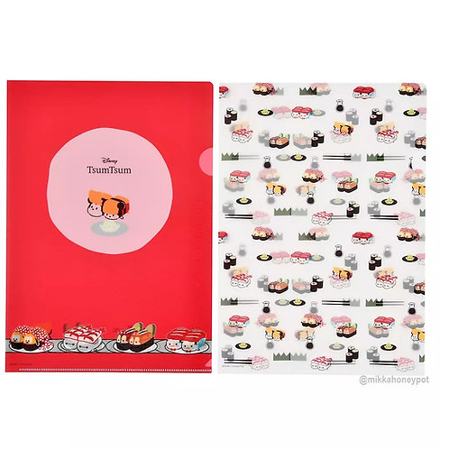 File Collection - Tsum Tsum Sushi File Set ( 2 pc set )