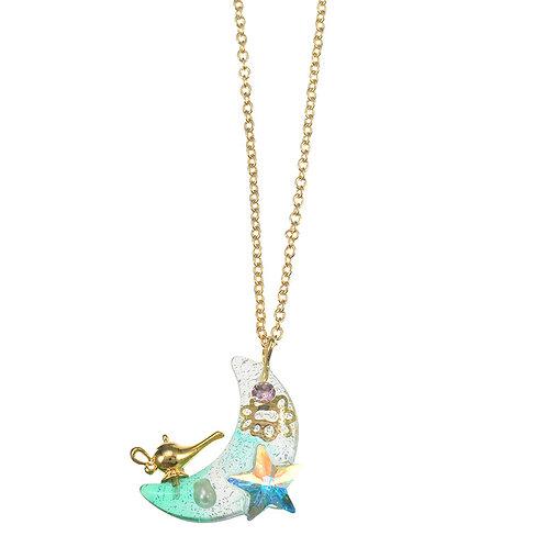 Necklace Series - Princess Princess . The crystal of Aladdin - Jasmine