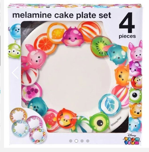 Kitchen Homeware - TSUM TSUM Candy Plate Collection