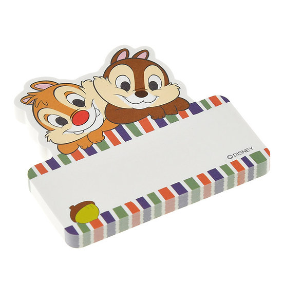 Memo Collection - Chip and Dale pop out Sticky Memo Pad