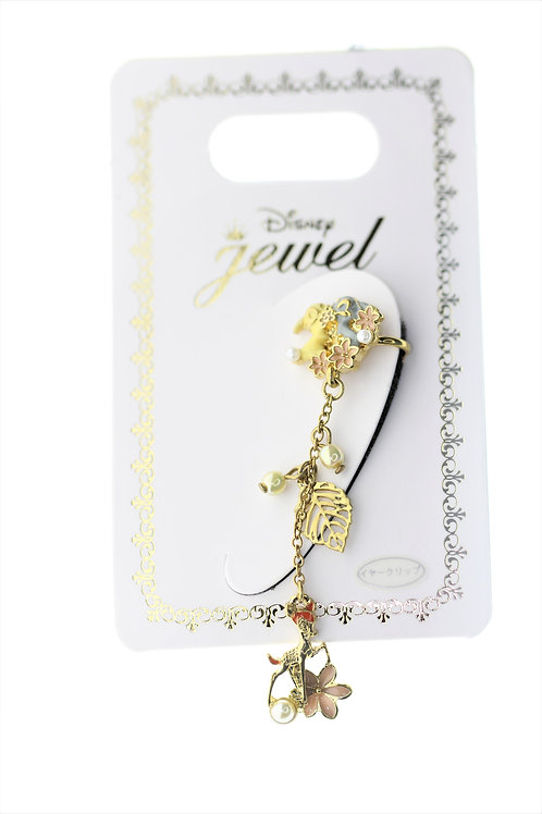 Clip Earring Collection : Bambi And Miss Lady Flower Ear Dress