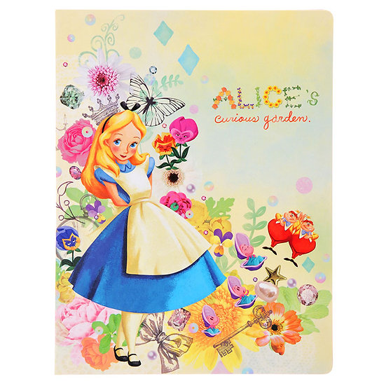 A5 Memo/Sticky Note pad : Alice in Curious garden
