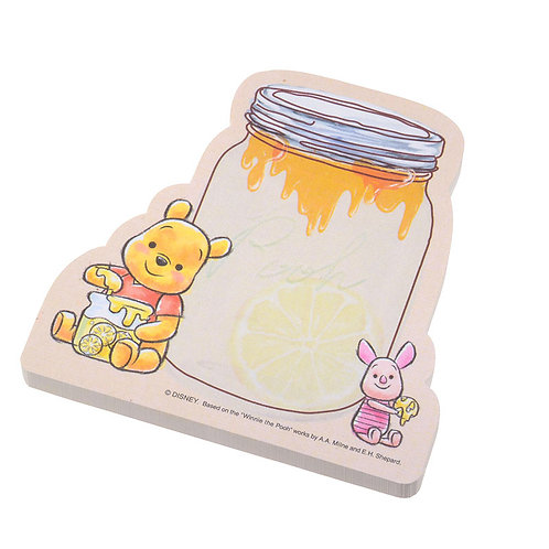 Sticky Pad Series: Winnie the Pooh & Piglet Jar