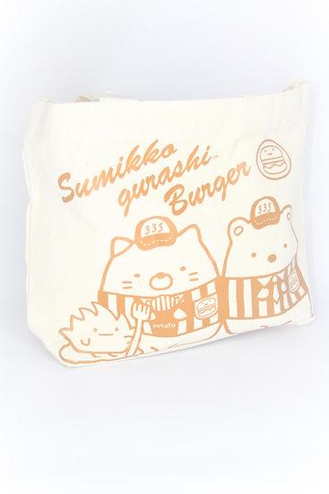 Hand Bag Collection - Sumikko Gurashi Burger Lunch Bag