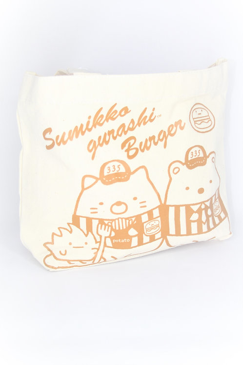 Hand Bag Collection - Sumikko Gurashi Burger Lunch Bag