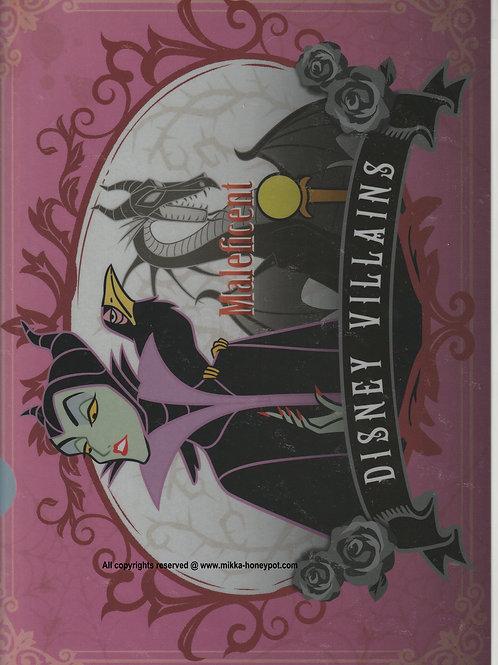File Collection Maleficent Disney Villains series  File ( 1 pc set )