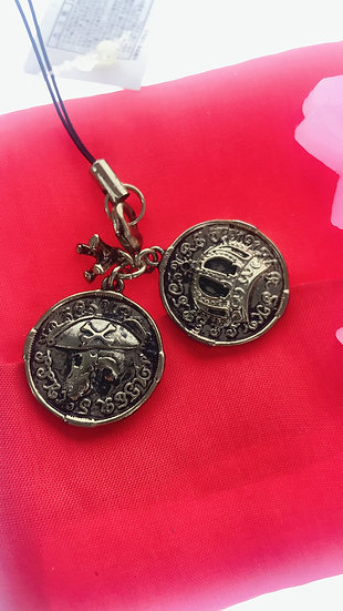 Strip Keychain Collection - Pirate of Caribbean The Coin Key Keychain