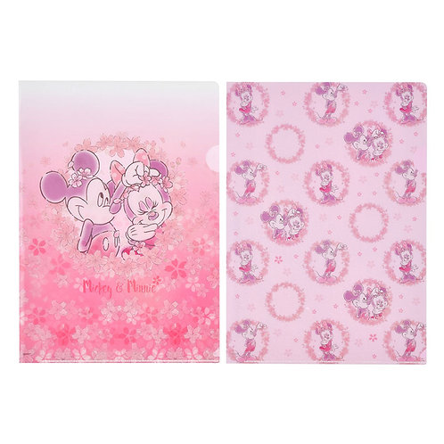 File Collection - Mickey & Minnie Sakura 2020 File Set Collection ( 02 PC )