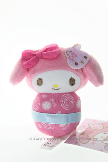 Plushie Collection -Japan Kokeshi Kimono My Melody Plushie