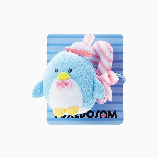 Elastics Decoration Series : Sanrio Penguin Tuxedo Sam Hair Bobbles