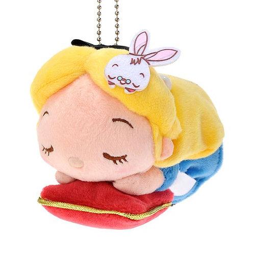 Plushie Keychain Series : Alice in wonderland Sleeping Alice Plushie Keychain