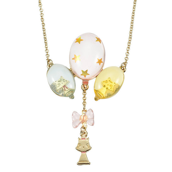Necklace Series - Disney Classics Circus Series Marie Cat Balloon Charm necklace