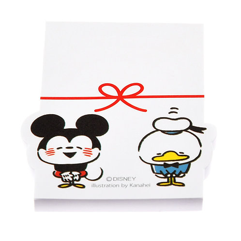 Memo Collection - Mickey & Friends Gift Memo Post-it Pad