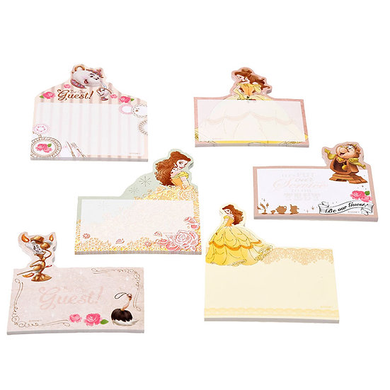 Sticky Pad Series: Beauty & the Beast Be our guest Memo Sticky Pad Box Set