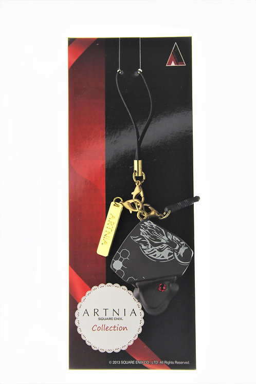 Strip Keychain Collection - Square Enix Cafe Artnia Final Fantasy 7 Cloud Choco
