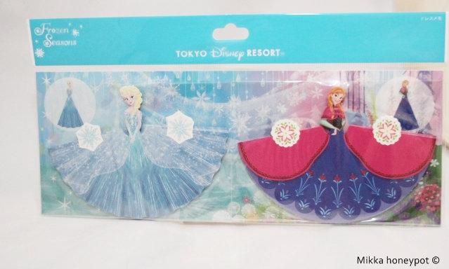 Tokyo Disney Exclusive : Frozen : Elsa & Anna 3D Foldable Memo