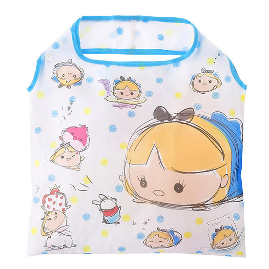 Eco Foldable Tote Bag Collection : Tsum Tsum Sketch Alice in wonderland