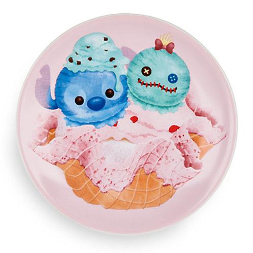 Tsum tsum Cake Dish Series : Stitch and Scrump