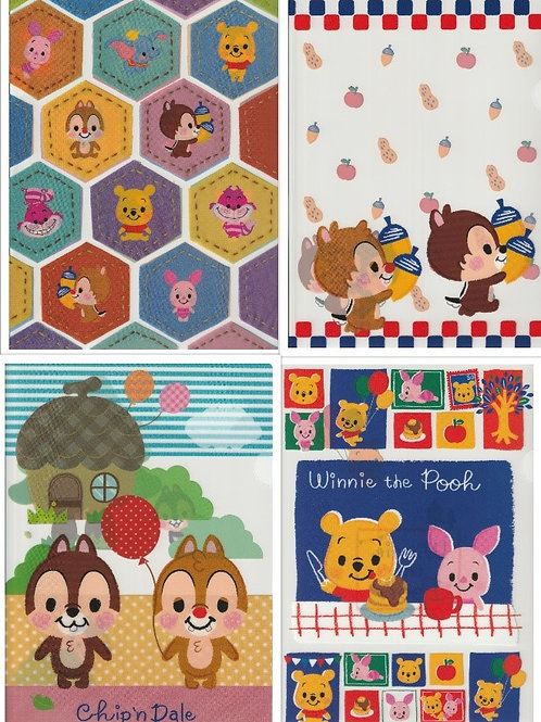 File Set Series: 4 PC Disney Friend File Set