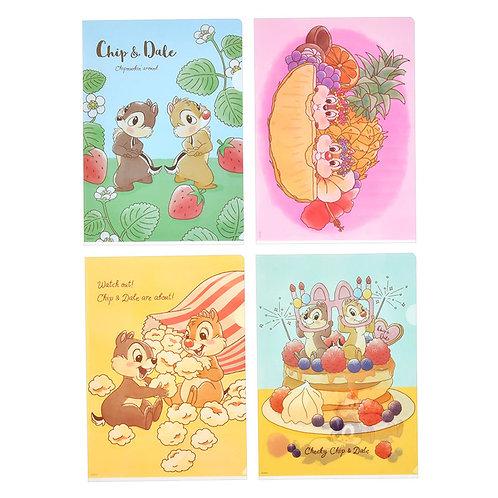 File Set Series: 4 PC Disney Chip & Dale Food and Season File Set
