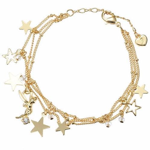 Bracelet series :  The Tinker Bell Shinny Star Bracelet