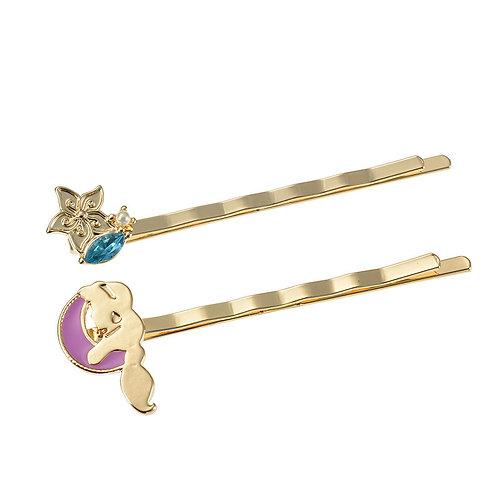 Hair Pin Collection -   Hair Pin Gift Case Set - Aladdin Jasmine