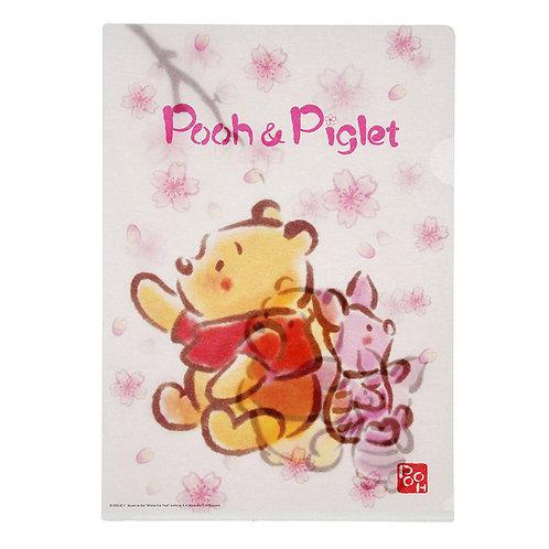 Disney File Series  : Pooh & Piglet SAKURA file