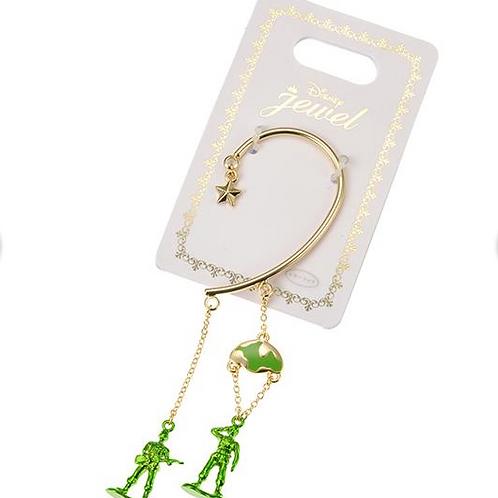 Ear Hook Earring Series  - Toy Story  Little Green solider