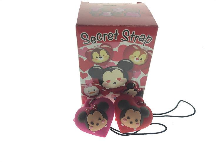 TOY Collection - Secret Strap Valentine Tsum Tsum Mickey & Minnie Set