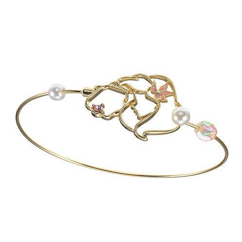 Bracelet series : Simple Jewelry Series Little Mermaid Pearl Bracelet