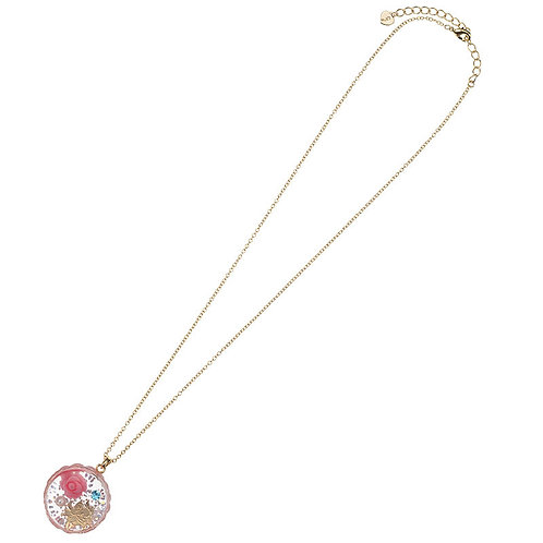 Necklace Series - Mary CAT DAY 2018 Rose Charm necklace