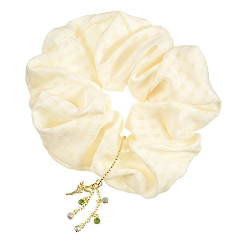 Scrunchie Hair Decoration : Tinker Bell Color Shiny Diamond Hair Scrunchie