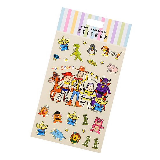 Disney Characters Sticker Collection - Toy Story Fun !