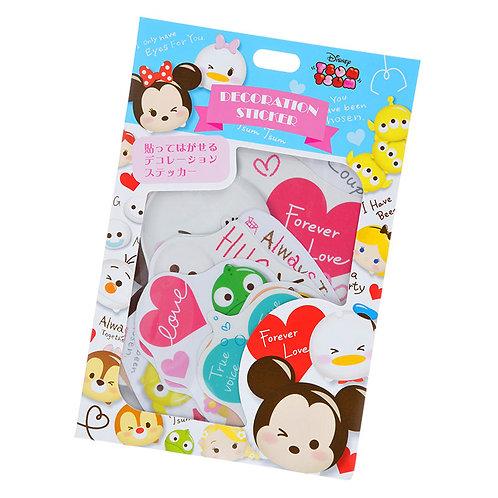 Sticker Pack Collection -  Tsum Tsum Valentine pack