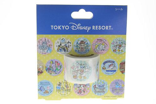 Sticker Roll Collection -Tokyo Disney Resort Fun Day Sticker Roll
