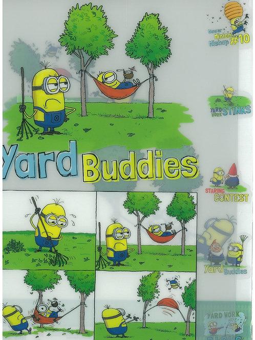 File Series: Despicable Me Yard buddies divider 5 pocket file