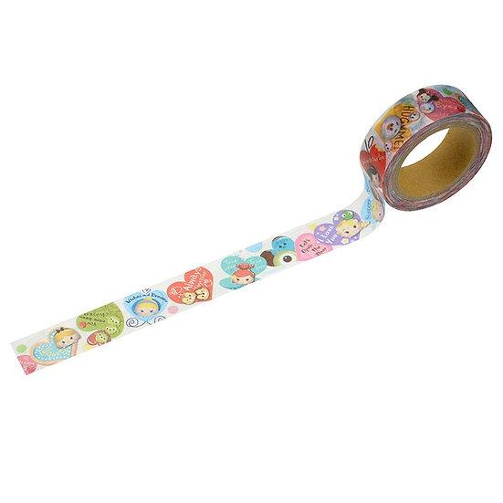 Washi Tape  :  Tsum Tsum - Valentine Fever
