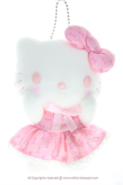 Plushie Keychain Collection - Pink Music Hello Kitty Odaiba Limited