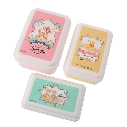 Kitchen Homeware - Disney Spring Forest Series 3 pc Lunchbox Set