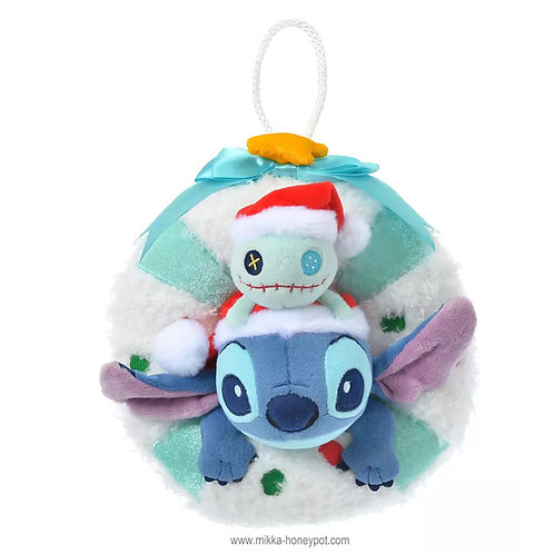 Stitch & Scramble 2020 Christmas Wreath Plushie