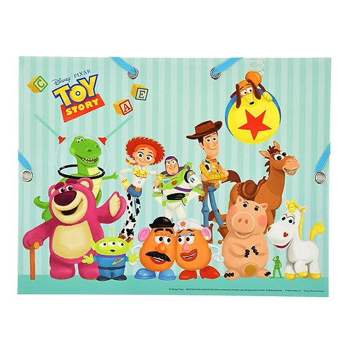 Paper File Case Series: A4 File Case - Pixa Toy Story n Monster EC File