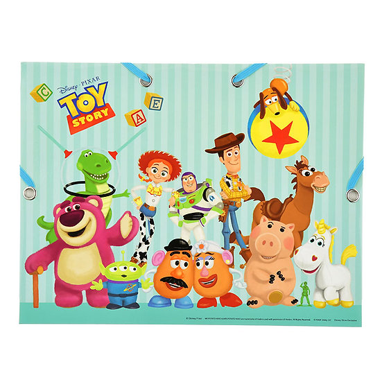 Paper File Case Series: A4 File Case - Pixa Toy Story n Monster EC File